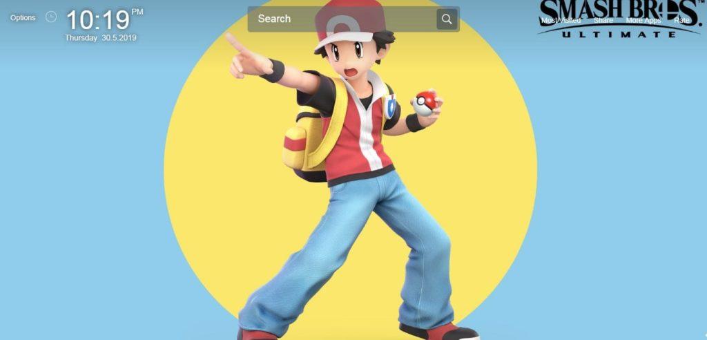 Super Smash Bros Ultimate Wallpapers HD - New Tab Theme