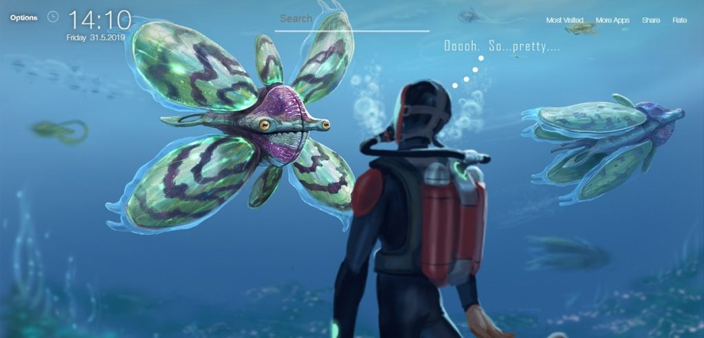 Subnautica Wallpapers HD - New Tab