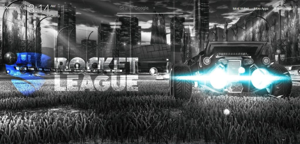 Rocket League Game Wallpapers Hd New Tab Theme Chrome
