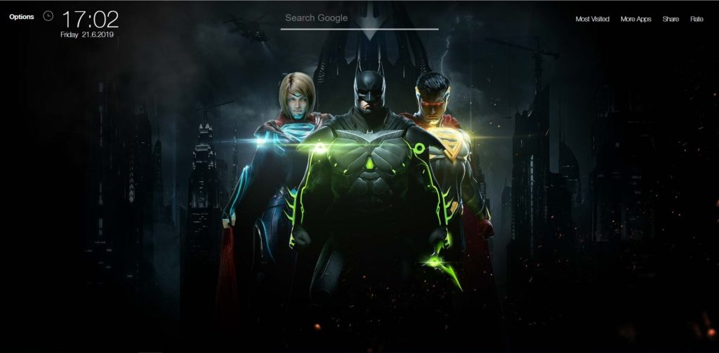 Injustice 2 Wallpapers Hd New Tab Theme Chrome Extensions