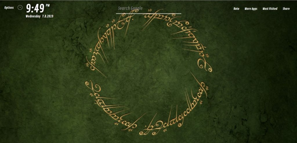 The Lord Of The Rings Hd Wallpapers Hd New Tab Theme